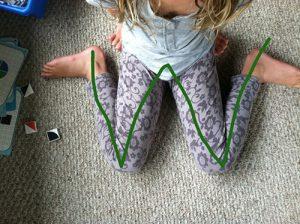 Kiểu ngồi có hại cho bé