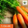 Cà rốt giàu caroten