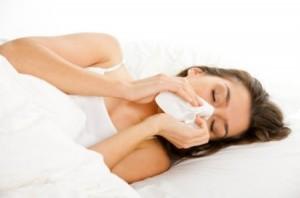 Phòng cảm cúm bằng cách không sờ tay lên mặt